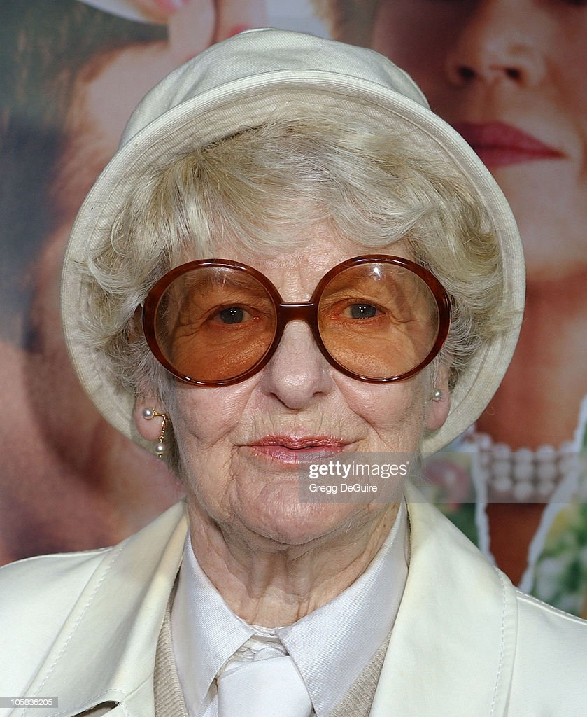 Elaine Stritch during 'Monster-In-Law' Los Angeles Premiere - Arrivals at Mann National Theatre in Westwood, California, United States.