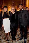 Elaine Watley Men's Creative Director of Calvin Klein Collection Italo Zucchelli and Victor Cruz attend the Calvin Klein Collection after party as a...