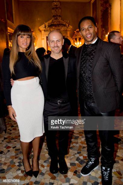 Elaine Watley Men's Creative Director of Calvin Klein Collection Italo Zucchelli and Victor Cruz attend the Calvin Klein Collection after party as a...