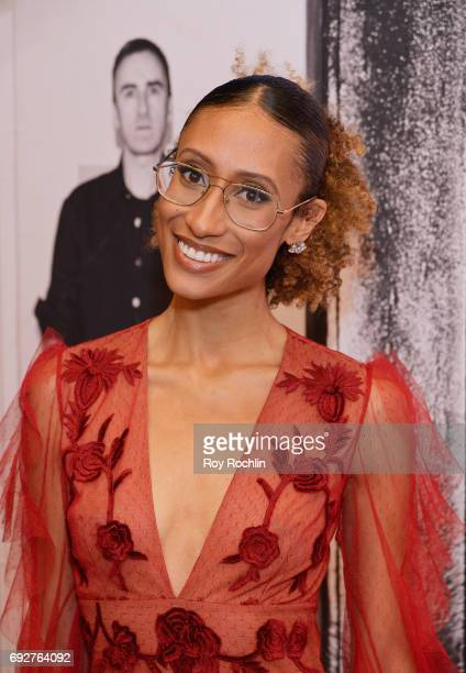 Elaine Welteroth attends the 2017 CFDA Fashion Awards at Hammerstein Ballroom on June 5 2017 in New York City