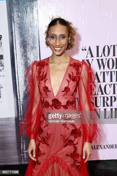 Elaine Welteroth attends the 2017 CFDA Fashion Awards on June 5 2017 in New York City