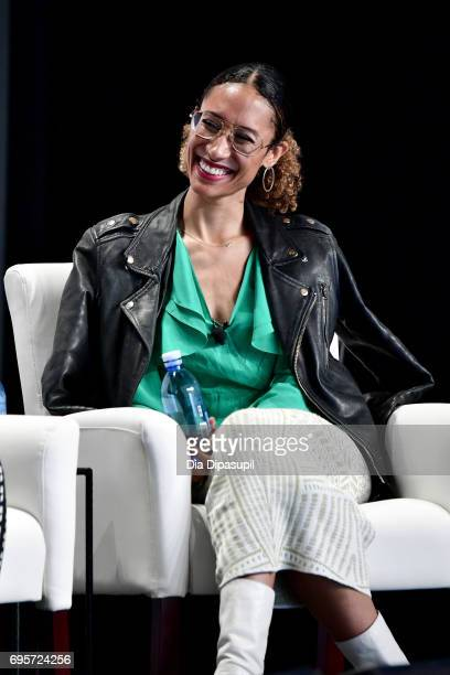 Elaine Welteroth attends the 2017 Forbes Women's Summit at Spring Studios on June 13 2017 in New York City