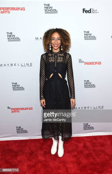 Elaine Welteroth attends the 69th Annual Parsons Benefit at Pier 60 on May 22 2017 in New York City