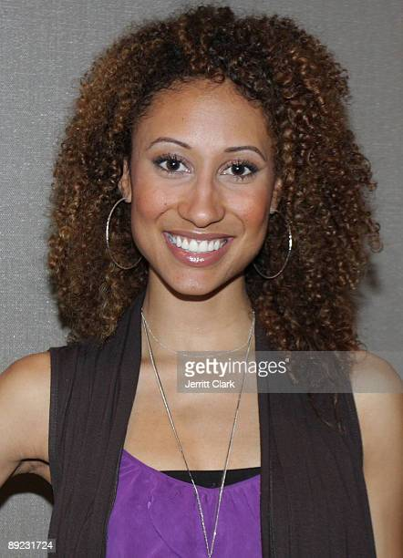 Elaine Welteroth attends the SheBlogscom Launch Party at Saks Fifth Avenue on July 23 2009 in New York City