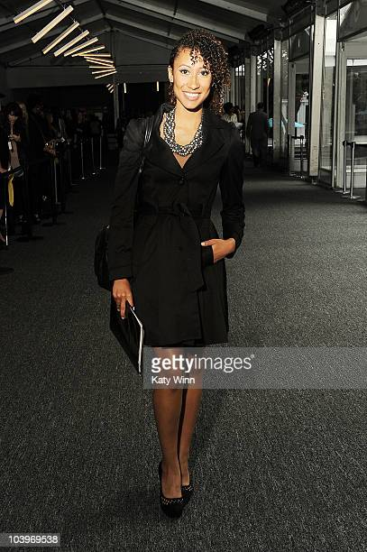 Elaine Welteroth is seen around Lincoln Center during MercedesBenz Fashion Week on September 10 2010 in New York City