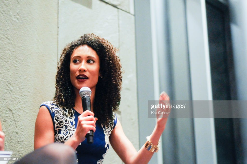 Elaine Welteroth speaks during the Leading Women Defined: First Ladies Reception on February 27, 2013 in Washington, DC.