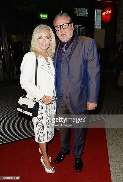 Elaine Winstone and Ray Winstone attend the '20000 Days on Earth' Gala preview screening at Barbican Centre on September 17 2014 in London England