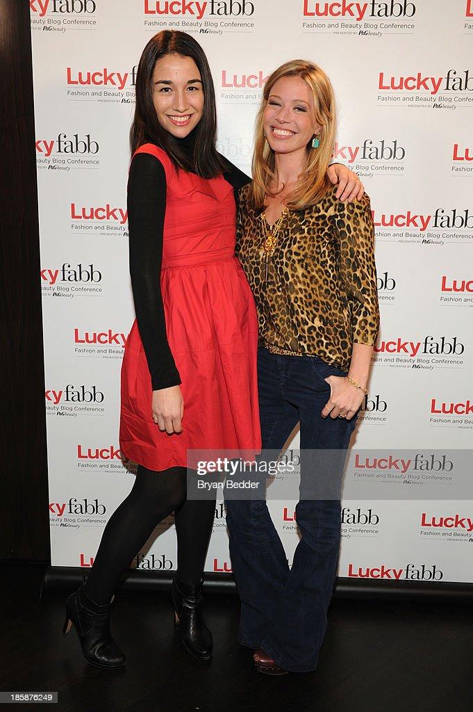Elana Fishman and Jordan Reid attend Lucky Magazine's Two-Day East Coast