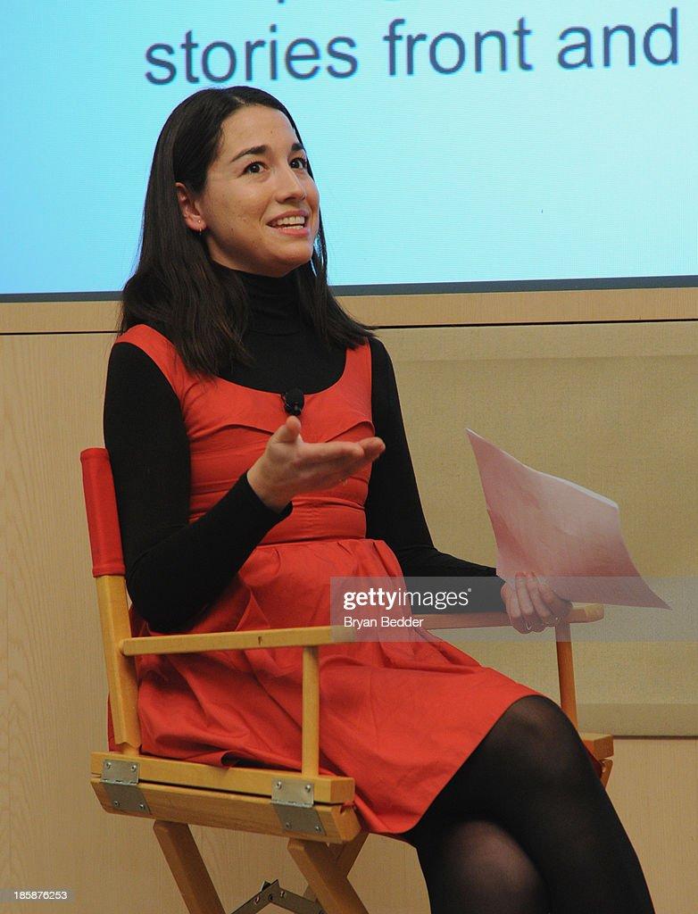 Elana Fishman speaks at Lucky Magazine's Two-Day East Coast