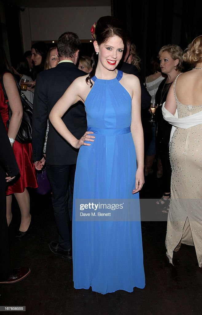 Elana Martin attends an after party celebrating the press night performance of the Menier Chocolate Factory's 'Merrily We Roll Along', following its transfer to the Harold Pinter Theatre, at Grace Restaurant on May 1, 2013 in London, England.