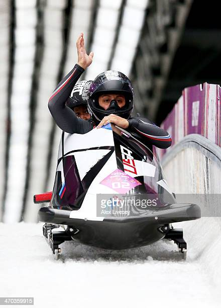 Elana Meyers Bobsledder Stock Photos and Pictures | Getty ...