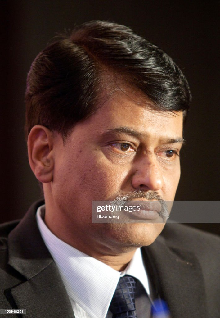 P. Elango, interim chief executive officer of Cairn India Ltd., pauses during the ASSOCHAM seminar on oil and gas in New Delhi, India, on Friday, Jan. 4, 2013. India cut the goal for economic growth in the five years to 2017 and signaled further fuel-price increases to limit subsidies that have stoked a budget deficit. Photographer: Pankaj Nangia/Bloomberg via Getty Images
