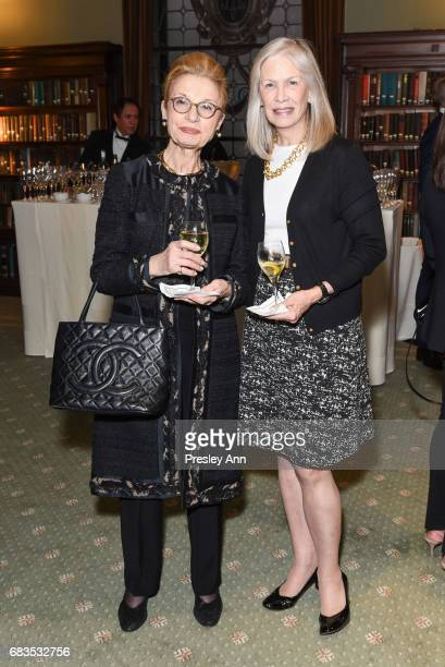 Elanie Race and Anne Nordeman attend Audrey Gruss' Hope for Depression Research Foundation Dinner with Author Daphne Merkin at The Metropolitan Club...