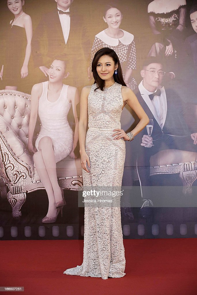 Elanne Kwong on the red carpet at the 2013 Hong Kong Film Awards on April 13, 2013 in Hong Kong, Hong Kong.