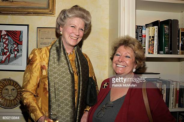 Elbrun Kimmelman and Catherine Saxton attend TINA BROWN VICKY WARD and LA MER host party honoring SUSAN NAGEL'S new book 'Marie Therese' at Tina...