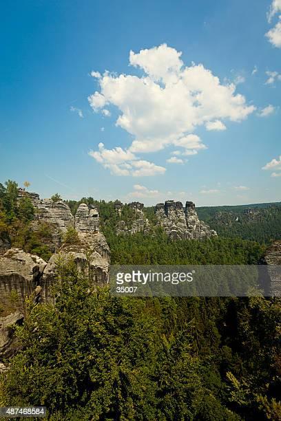 elbsandsteingebirge - elbsandstone mountains saxony