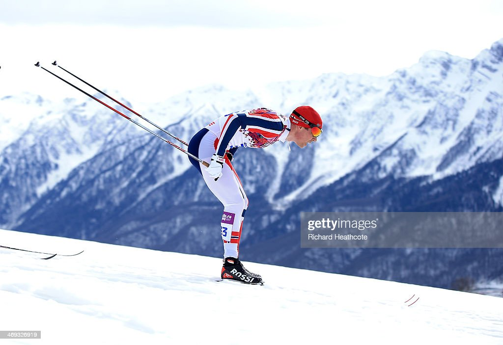 <a gi-track='captionPersonalityLinkClicked' href=/galleries/search?phrase=Eldar+Roenning&family=editorial&specificpeople=802581 ng-click='$event.stopPropagation()'>Eldar Roenning</a> of Norway competes in the Men's 15 km Classic during day seven of the Sochi 2014 Winter Olympics at Laura Cross-country Ski & Biathlon Center on February 14, 2014 in Sochi, Russia.