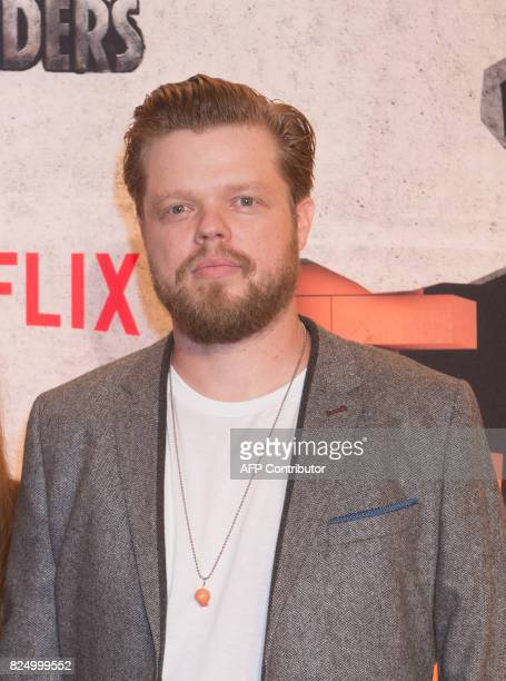 Elden Henson arrives for the Netflix premiere of Marvel's 'The Defenders' on July 31 2017 in New York / AFP PHOTO / Bryan R Smith