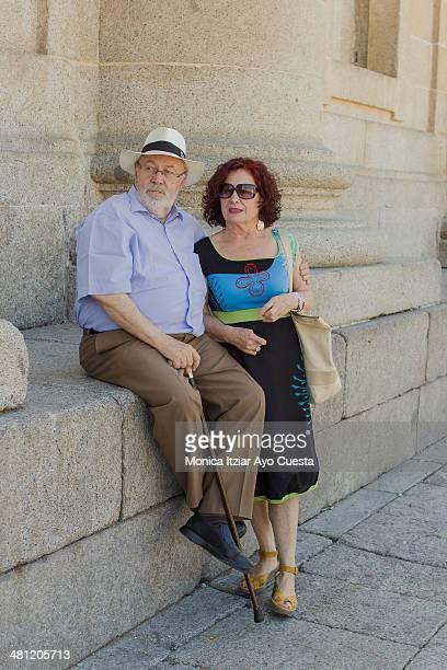 Elderdy couple