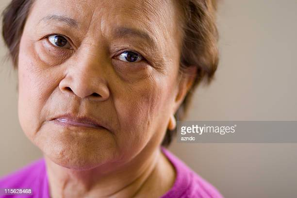 Elderly Asian Woman