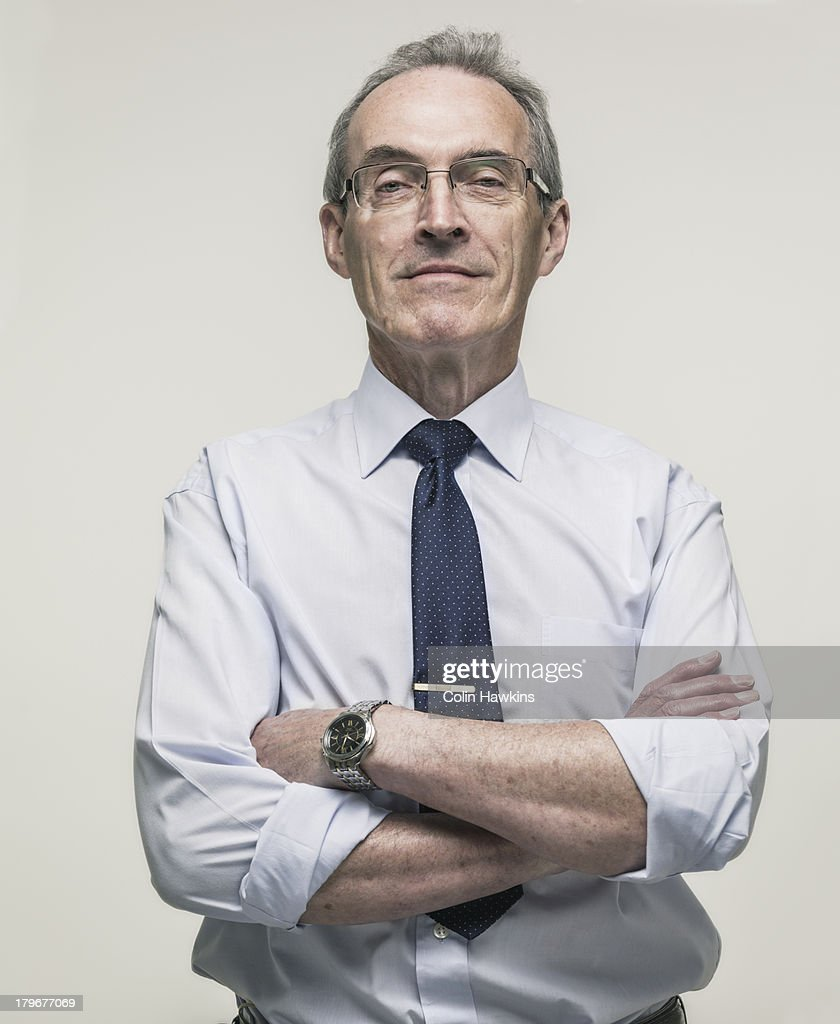 Elderly Buiness man : Stock Photo