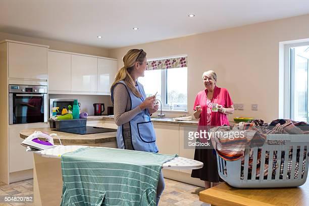 Soins à domicile personnes âgées