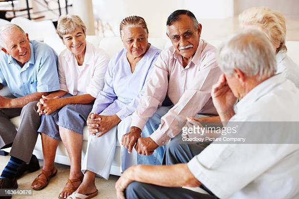 Elderly conversation