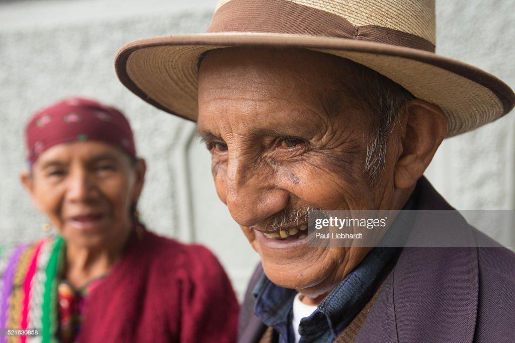Elderly Guatemalan Married Couple