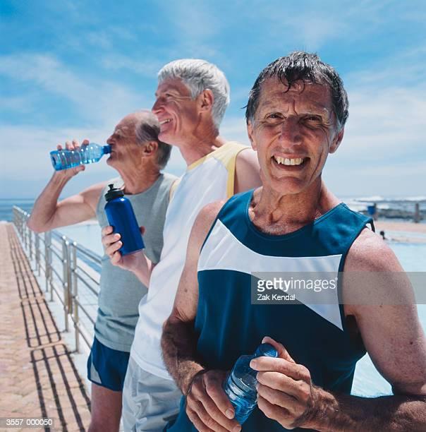 Elderly Joggers