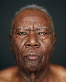 Elderly man, portrait, close-up