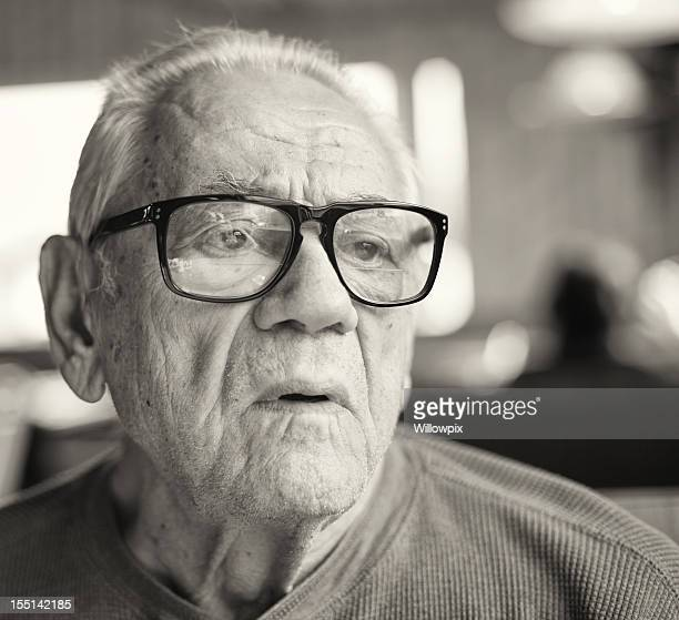 Elderly Man Talking