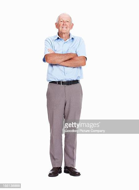 Elderly man with confidence