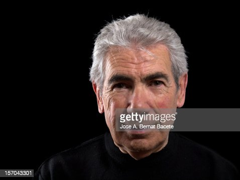 Elderly smiling : Stock Photo
