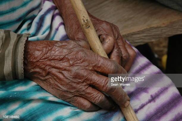 Elderly Village Hands