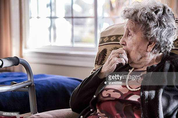 Elderly Woman in a Nursing Home