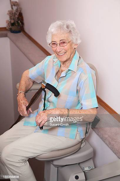 Stair Lift Stock Photos And Pictures Getty Images