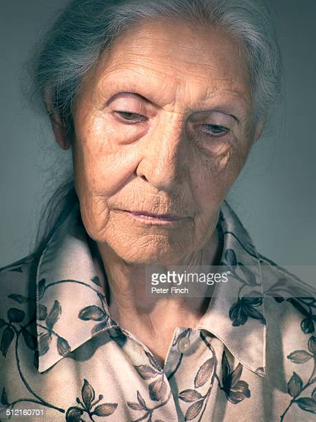 Elderly woman's portrait