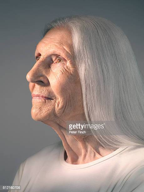 Elderly woman's potrtait