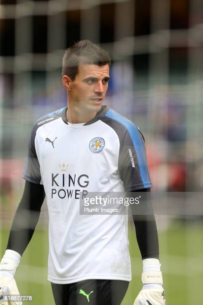 Eldin Jakupovic of Leicester City at Hong Kong Stadium ahead of the Premier League Asia Trophy on July 19th 2017 in So Kon Po Hong Kong