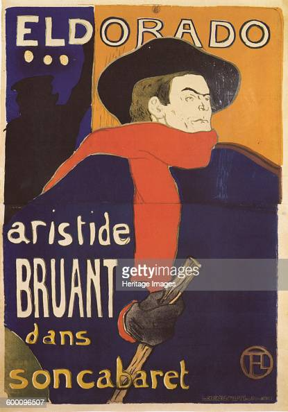Eldorado Aristide Bruant 1892 Private Collection Artist ToulouseLautrec Henri de