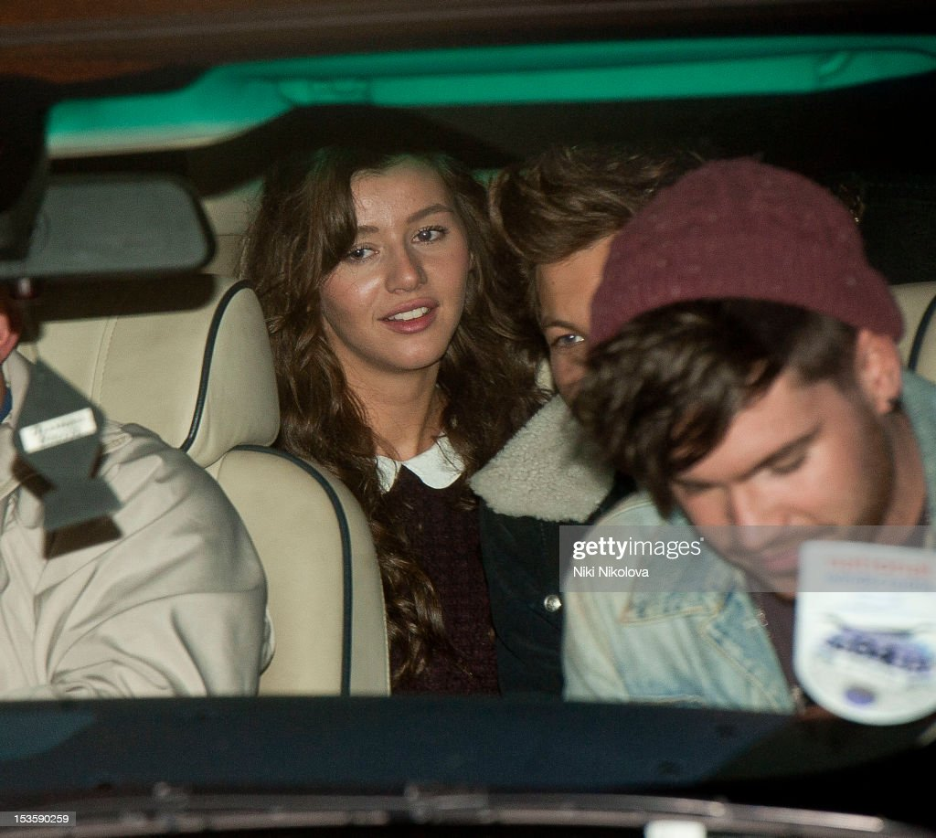 Eleanor Calder sighting on October 6, 2012 in London, England.