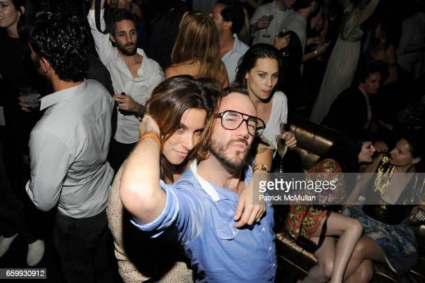Eleanor Cayre and Cator Sparks attend Party at WALL Hosted by VITO SCHNABEL STAVROS NIARCHOS ALEX DELLAL at WALL at the W SOUTH BEACH on December 3...