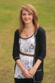 Eleanor Davidson from King Edward VI High School in Edgbaston poses with her results having achieved 8 A star graded Alevels on August 18 2011 in...