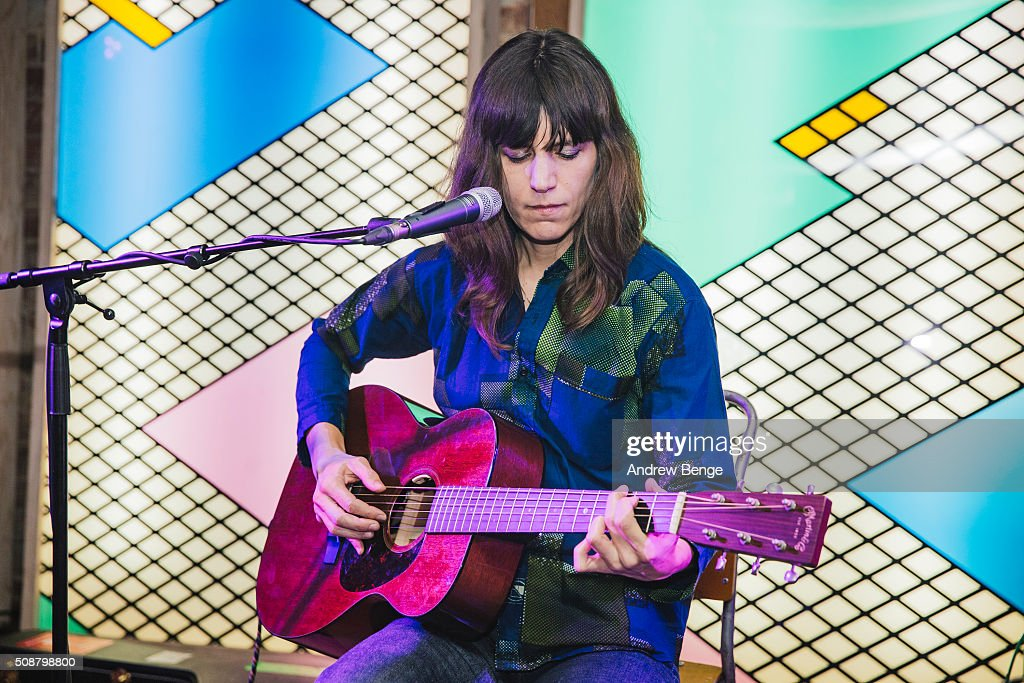 Eleanor Friedberger performs on stage at Headrow House on February 6, 2016 in Leeds, England.