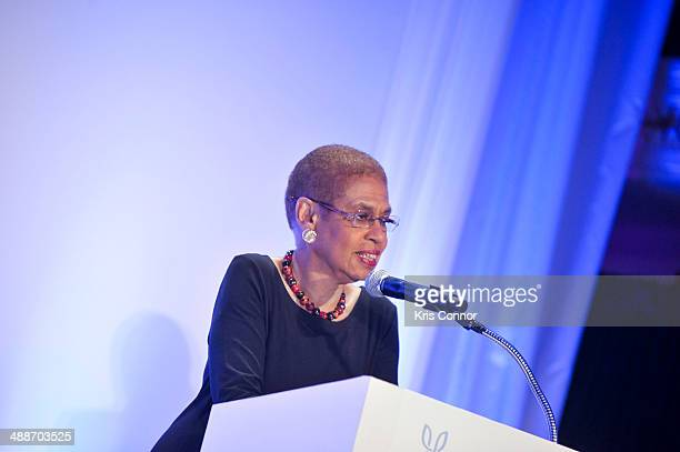 Eleanor Holmes Norton attends the 2014 Global Down Syndrome Foundations Be Beautiful Be Yourself DC Gala at Renaissance Mayflower Hotel on May 7 2014...