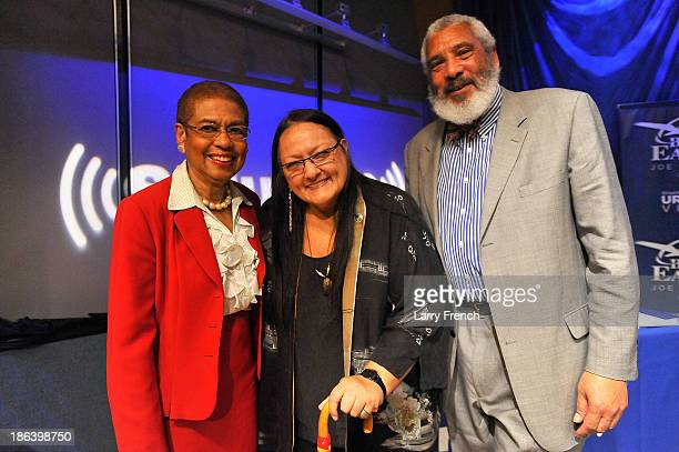 Eleanor Holmes Norton Suzan Shown Harjo and Reverend Graylon Hagler participate in 'What's In A NameThe Washington Redskins Controversy A SiriusXM...