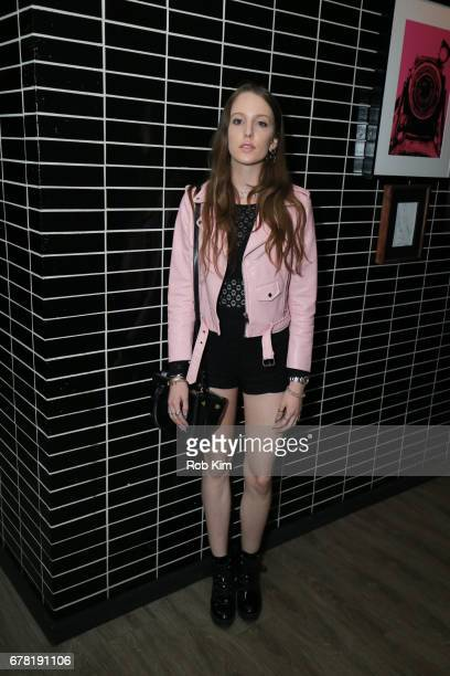 Eleanor Lambert attends the afterparty for 'Guardians of the Galaxy Vol 2' presented by Remy Martin at The Skylark on May 3 2017 in New York City