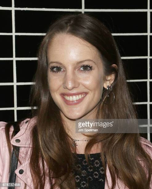 Eleanor Lambert attends the screening after party for Marvel Studios' 'Guardians Of The Galaxy Vol 2' hosted by The Cinema Society at The Skylark on...