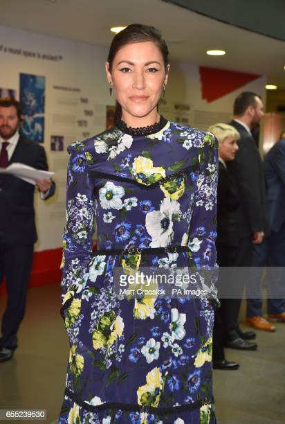 Eleanor Matsuura arriving at the Three Empire Awards held at The Roundhouse in Chalk Farm London