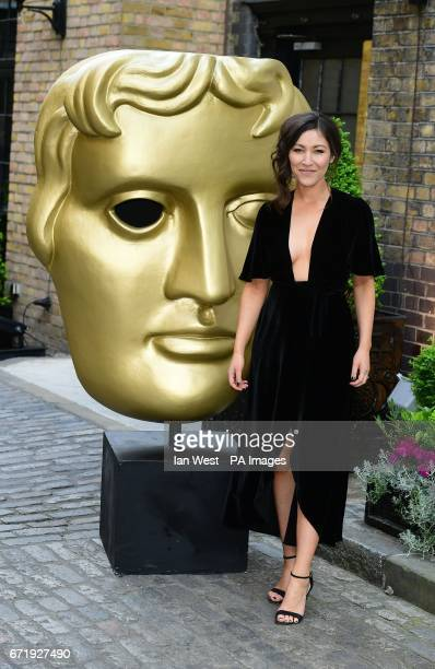 Eleanor Matsuura attending the BAFTA Craft Awards at the Brewery in London